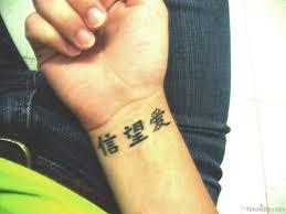 50 best wording tattoos for wrist