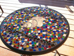 Mosaic Patio Furniture by 7 Best Table For Two Great Bistro Set Ideas Images On Pinterest