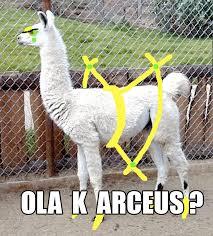Arceus Meme - ola k arceus ola k ase know your meme
