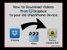 dropbox youtube download how to download videos from dropbox to your ipad or iphone youtube