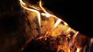 Flame And Comfort Fireplace With Artificial Fire Can Replace A Real Fireplace In The