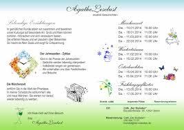 Esszimmer Mahlsdorf Auftritt Agathe Leselust