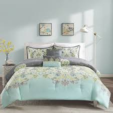 Green And Gray Comforter Teal Yellow And Grey Bedding Grey Blue Aqua Green Teal Yellow