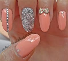 peach nail design images nail art designs