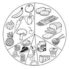 healthy food coloring pages pertaining to current house cool