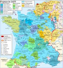 Calais France Map by Map Of France In 1477 Maps Pinterest France History And