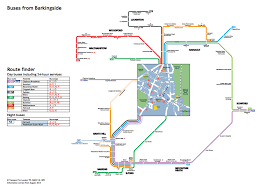 Metrolink Route Map by Four Thoughts On Tfl U0027s Plans To Colour Code Its Bus Routes