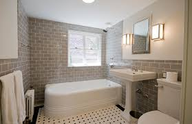 Subway Tile Bathroom Bathroom Color Crackle Subway Tile Bathroom Traditional With