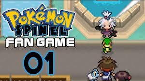 pokemon fan games online pokemon spinel part 1 i want his starter pokemon fan game