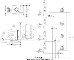 10 channel light bulb sequencer electronics forum circuits