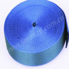 Muster Blau Grün Neue Ankunft Modedesign Baumwolle Mix Gurtband Twill Muster