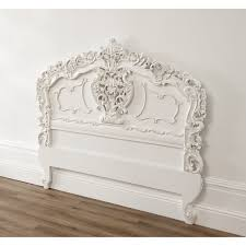 white rococo antique french headboard a fantastic addition to any home