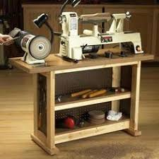 Hobby Bench Plans Wood Lathe Stand With Storage Lathe Woodworking And Wood Lathe