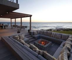 outdoor sitting outdoor seating areas with fire pits that will amaze you