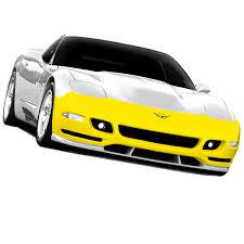 c5 corvette front spoiler tiger shark front fascia