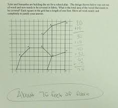 composite polygon area students are asked to find the area of a