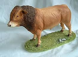 bull figurine ornament limousin bull ornaments yourpresents co uk