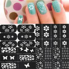 stencils for nail art gallery nail art designs