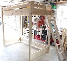 How To Make A Loft Bed With Desk Best 25 Build A Loft Bed Ideas On Pinterest Boys Loft Beds Diy