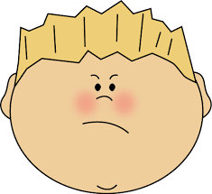 make meme with angry boy face clipart