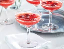 raspberry martini grapefruit raspberry mimosa mocktail
