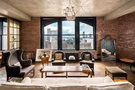 livingroom soho rent kirsten dunst s manhattan apartment photos architectural digest