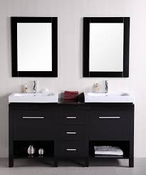60 Bathroom Vanity Double Sink White by Shop Small Double Sink Vanities 47 To 60 Inches With Free Shipping