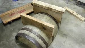 coffee table whiskey barrel side table lowes recycled wine