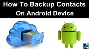 how to backup contacts on android how to backup contacts on android 3 ways