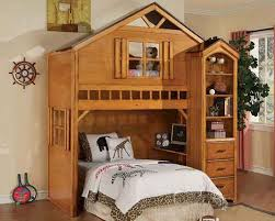 Bookcase Bunk Beds Acme Furniture Bunk Bed With Book Shelf Cabinet Montana Ac10160 3