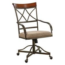powell hamilton swivel tilt caster dining chairs set of 2