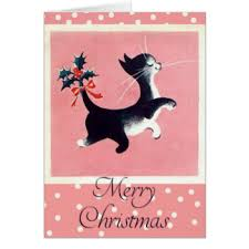 cat christmas cat christmas cards invitations greeting photo cards zazzle