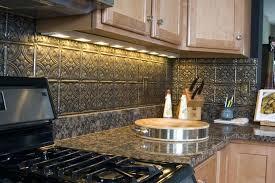 Tin Kitchen Backsplash Tin Look Backsplash Kitchen Metal Ideas Pressed Tin Panels Tile