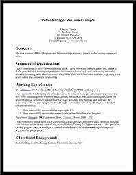 Retail Store Manager Resume Examples Resume Sales Associate Resume Example
