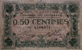 chambre de commerce abbeville billets du xxème siècle les billets des chambres de commerce