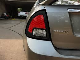 2011 ford fusion tail light tail light mod fordfusionclub com the 1 ford fusion forum