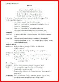 standard resume sample us standard resume sample example