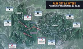 Park City Utah Map Park City To Become Biggest Ski Resort In Usa