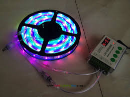 dc led strip lights intelligent tm1812 rgb led light strip 160 leds dc 12 volt