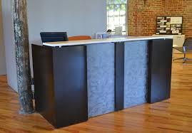 solid l shaped desk solid l shaped reception desk manitoba design l shaped reception