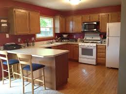 wall colors for kitchens with oak cabinets what color hardwood floor with oak cabinets