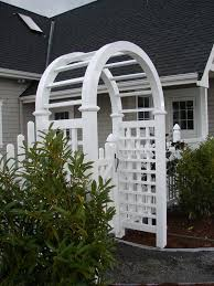 arched trellis metal garden arch trellis foterdecorative nantucket