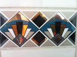 Art Deco Tile Designs 153 Best Art Deco Interiors Images On Pinterest Art Deco
