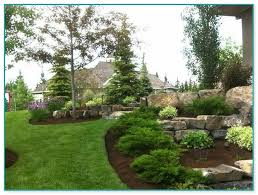 landscaping with large boulders