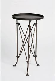 Small Round Accent Table by Small Metal Side Table Great Tables
