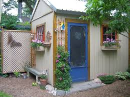 Storage Shed With Windows Designs Appealing Wood Storage Sheds Large And Small Storage With Flowers