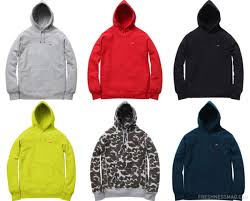 supreme small box logo pullover hoodies available now
