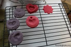 play dough magnets teaching