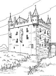 castle coloring sheet free coloring pages art coloring pages