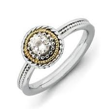 white topaz engagement ring white topaz rings white topaz gemstone rings white topaz rings